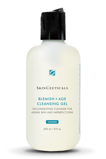 Blemish+ age cleansing gel